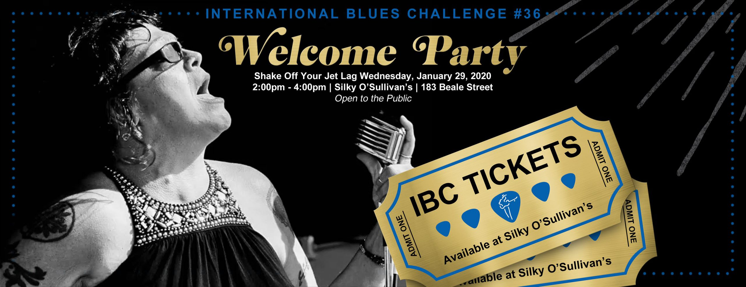 IBC International Blues Challenge Welcome Party at Silky O'Sullivan's