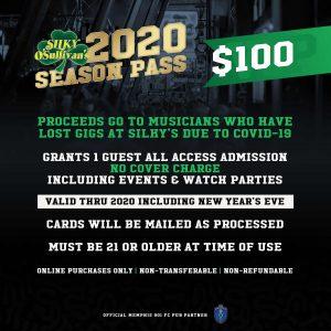 Silky O'Sullivan's 2020 Season Pass